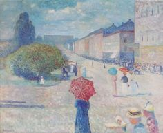 In the footsteps of the great Edvard Munch  Photo: Wikimedia Commons, Public Domain