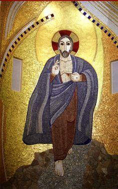 jana pawła rupnik - Szukaj w Google Catholic Art, Religious Art, Easter Vigil, Society Of Jesus, Holy Saturday, Mosaic Portrait, Rome, Biblical Art, People Art