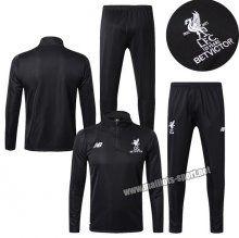 ensemble de foot Liverpool noir