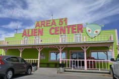 America is full of bizarre and strange things—supersize meals, pennies, obsession with Starbucks, you name it—but these 10 tourist stops along popular Nevada Area 51, The Places Youll Go, Places To See, Strange Places, Strange Things, Las Vegas, Roswell New Mexico, Us Road Trip, Roadside Attractions