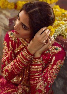 Pakistani bridal dress Online 2020 embellished with stone, beads & zardozi work. Now Buy Pakistani bridal dresses online 2020 in USA with Fast Delivery Pakistani Bridal Dresses Online, Pakistani Formal Dresses, Pakistani Wedding Outfits, Indian Bridal Outfits, Pakistani Bridal Wear, Pakistani Gharara, Pakistani Actress, Beautiful Pakistani Dresses, Wedding Lehnga