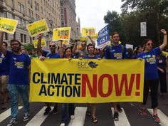 PEOPLE'S CLIMATE MARCH- The world's largest protest demanding a change in current policies that affect the environment. I was there and it was unbelievably peaceful, caring with a big message:) via EDF @EnvDefenseFund on Twitter