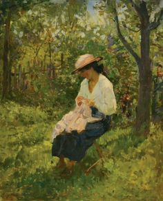 Nicolae Vermont - În grădină