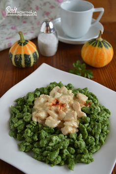Kitchen Stories, Hungarian Recipes, Green Beans, Risotto, Main Dishes, Clean Eating, Easy Meals, Food And Drink, Yummy Food