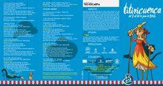 Titiricuenca 2015. Festival de títeres Titiricuenca que este año celebra su 25 aniversario ha vuelto a confiar en mí para que desarrollase su diseño gráfico. Aquí podeis ver el programa del festival que estará por las calles de Cuenca del 7 al 14 de Junio de 2015.
