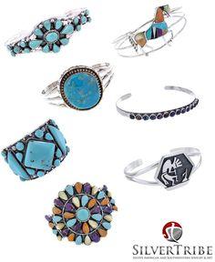 Eye catching bracelets from SilverTribe!