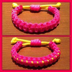Einstellbare & reversibel 2 Farbe Paracord Bracelet