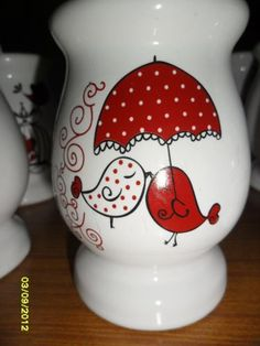 Souvenirs Mates Flower Pot Art, Clay Flower Pots, Flower Pot Crafts, Clay Pot Crafts, Clay Pots, Diy And Crafts, Arts And Crafts, Porcelain Paint Pens, Ceramic Painting