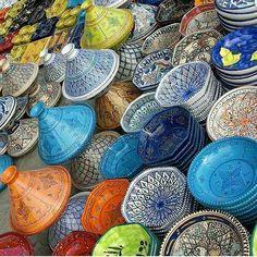 Morocco Art & Architecture . Tajin's