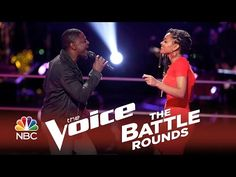 "▶ The Voice 2014 Battle Round - Damien vs. Kelli Douglas: ""Knock on Wood"" - YouTube"