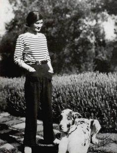 coco chanel | Coco Chanel i love stripes