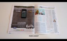 Ford Explorer Marries Traditional and Mobile Marketing with Creative Interactive Mobile Print Ads Mobile Advertising, Mobile Marketing, Digital Marketing, Print Advertising, Ford Explorer, Saatchi & Saatchi, Augmented Reality, Print Ads, Cool Cars