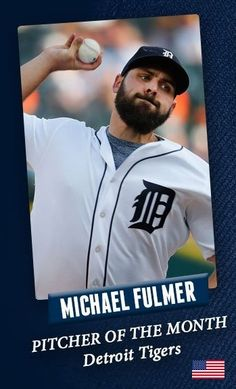 Michael Fulmer Detroit Tigers, Baseball Cards, Sports, Hs Sports, Excercise, Sport, Exercise