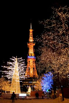 Lantern Festival for Christmas Sapporo hokkaido japan Sapporo, Places To Travel, Places To See, Beautiful Places, Beautiful Pictures, Japan Holidays, All About Japan, Culture Art, Japanese Travel