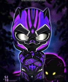 Black Panther, T'Challa - Best of Wallpapers for Andriod and ios Marvel Comic Universe, Marvel Art, Black Panther Drawing, Evil Unicorn, Superhero Villains, Black Panther Marvel, Lord, Spirit Animal, Comic Art