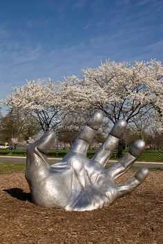 The Awakening Sculpture at Haines Point in East Potomac Park, Washington DC, USA | Chuck Pefley Photography