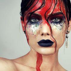 "19.5k Likes, 130 Comments - Linda Hallberg (@lindahallbergs) on Instagram: ""Got inspired by plants & flowers today ❤ #editorial #makeup #art #fotd"""