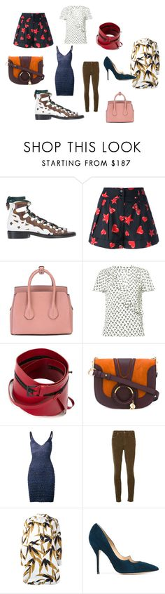 """fashion mode"" by kristen-stewart-2989 ❤ liked on Polyvore featuring Toga, Moschino, Bally, Altuzarra, Ann Demeulemeester, See by Chloé, Kenzo, Mother, Marni and Paul Andrew"