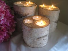Hey, I found this really awesome Etsy listing at http://www.etsy.com/listing/104363117/3-large-birch-candle-holders-for-your
