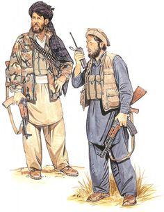 AK-47 Kalashnikov, Afghan guerrilla 1980, pin by Paolo Marzioli