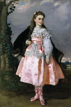 Concepcion Serrano , the future Countess Santoveina by Eduardo Rosales, 1871.