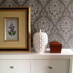 Ada morocco inspired design wall stencil allover designer pattern home decor