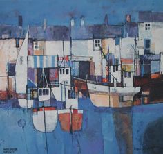 Quayside 2 by British Contemporary Artist Martin Procter