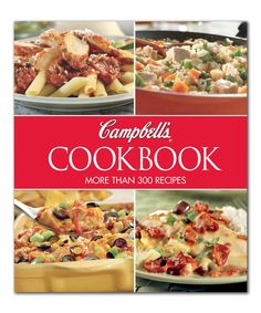 Take a look at this Campbell's® Cookbook Hardcover today!