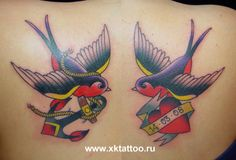 #swallow #tattoo #oldschool