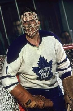 Don Simmons - Toronto Women's Hockey, Hockey Games, Hockey Players, Hockey Room, Hockey Pictures, Sports Pictures, Nhl, Maple Leafs Hockey, Goalie Mask