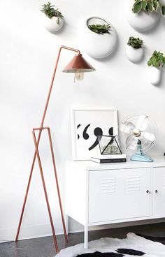Learn To DIY A Copper Pipe Floor Lamp For The Home