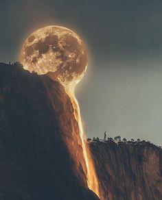 """artisticlog: """"La Luna ✨ """""""