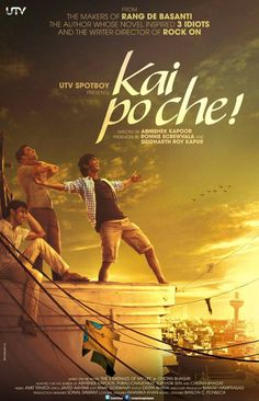 Kai po che! Good casting and a well made film, not overly dramatic.