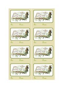 Set of Christmas tags to print and cut. Punch hole and add ribbon. Christmas Tags To Print, Christmas Gift Tags, Gift Of Time, Hole Punch, Print And Cut, Ribbon, Printables, Tape, Treadmills