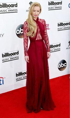 Iggy Azalea Austrailian singer rocks the red carpet!