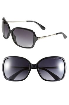 MARC BY MARC JACOBS 59mm Square Sunglasses