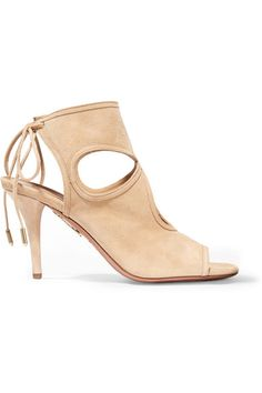 Aquazzura | Sexy Thing suede sandals | NET-A-PORTER.COM