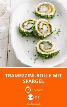 Tramezzini-Rolle mit Spargel. Tolles Fingerfood für Gäste zum Brunch   Kalorien: 118 Kcal - Zeit: 35 Min.   eatsmarter.de