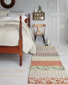 Bonita Floral Hooked Wool Rug -   OUT OF STOCK?! Now doesn't that just make you mad?!