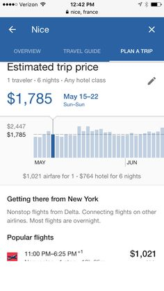 Save time when planning a weekend road trip or week-long international adventure with Google's latest travel feature, Destinations on Google. Search for a location using Google on your phone and press the explore tab. There, you can explore top sites to see and find out the best time to book. It's an enti...