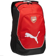 New puma arsenal #sports football #casual #school college gym accessories backpac,  View more on the LINK: http://www.zeppy.io/product/gb/2/151785615181/
