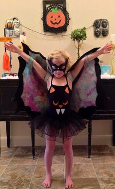 Black bat holiday Halloween costume quality by sweetpeppergrass, $65.00