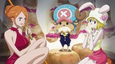 nami,chopper,carrot by onepiece