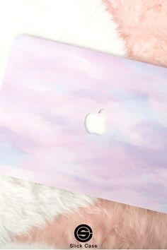 Macbook Hard Case, Laptop Cases, Iphone Cases, Macbook Pro Decal, Macbook Air Pro, Soft Colors, Vibrant Colors, Macbook Accessories, Macbook Sleeve