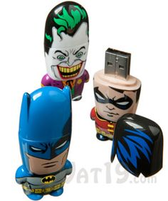 MIMOBOT Designer Batman USB Flash Drives