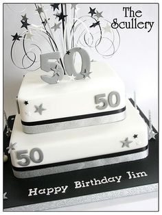 50th birthday cake: