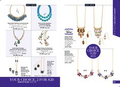 eBrochure | AVON jewelry on sale? Yes Please!! starting as low as $9.99! www.youravon.com/rplattharendza