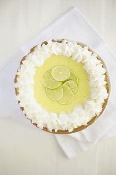 healthy key lime pie - Love Lola | A Food & Lifestyle Blog by Lauren Foster