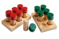 Pudełka zapachowe - pomoce Montessori - Sklep aleZabawki.co