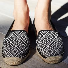 Espadrilles. Can't live without them!